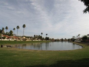 Lake Angela in Scottsdale, AZ (McCormick Ranch)
