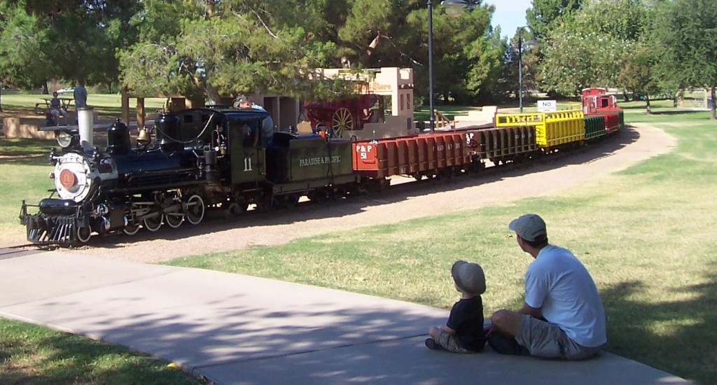 McCormick Stillman Railroad Park in McCormick Ranch