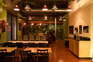 Echo Coffee Dining Area