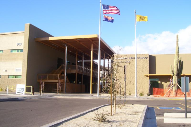 Saguaro High School in Scottsdale, AZ