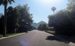 Camelback Mountain from Vista Bonita