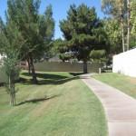 Walking Path Along the Estate Los Arboles Subdivision