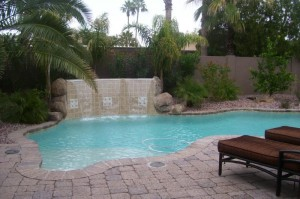 Pool in Vista De La Tierra Home (McCormick Ranch)