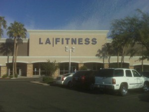 LA Fitness in Paseo Village of McCormick Ranch