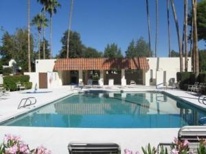 Community pool in Heritage Village 3