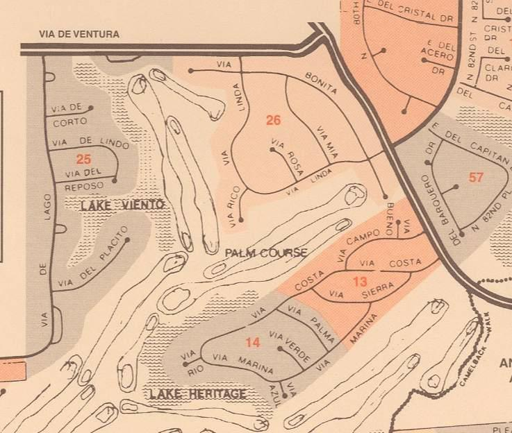 McCormick Ranch Map for Palo Viento 2