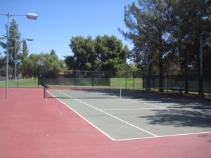Tennis Court at Comanche Park