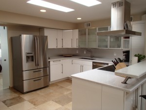 Modern kitchen at 8210 E Del Claro