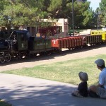 The McCormick-Stillman Railroad Park in McCormick Ranch (Scottsdale, AZ)