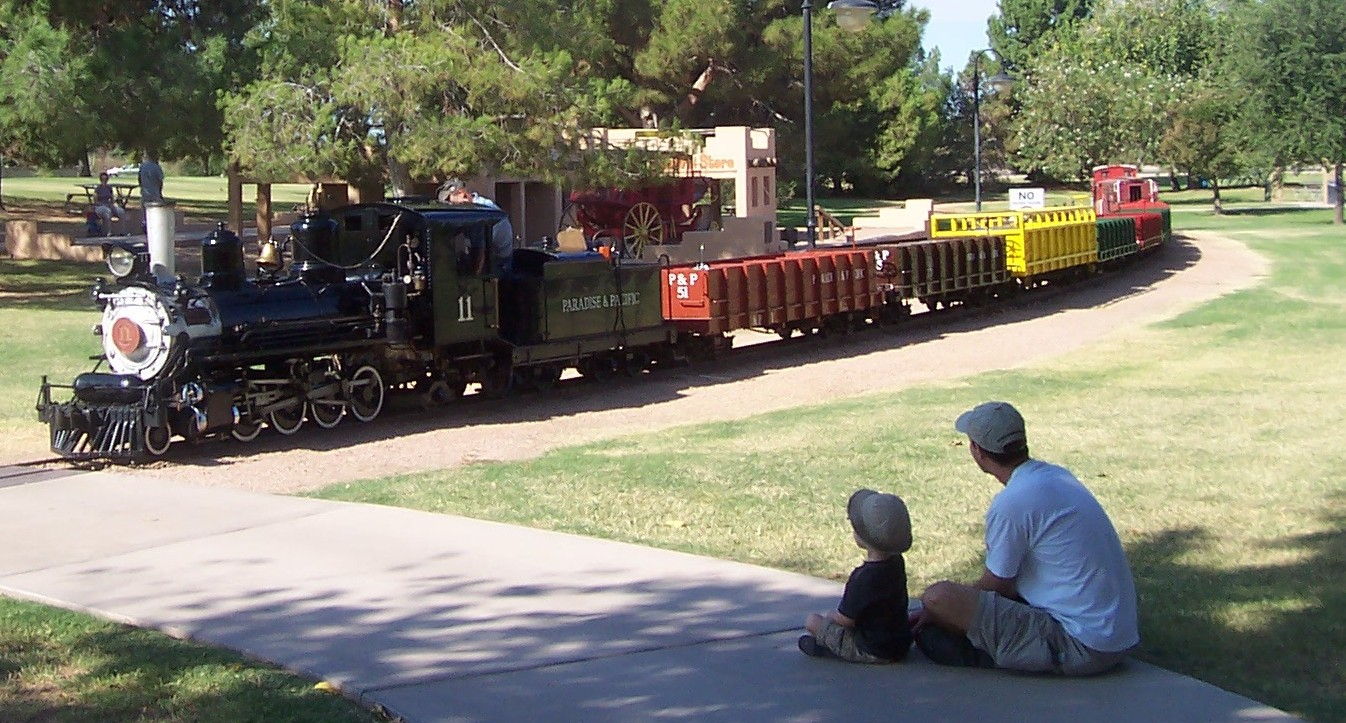 McCormick Stillman Railroad Park in McCormick Ranch