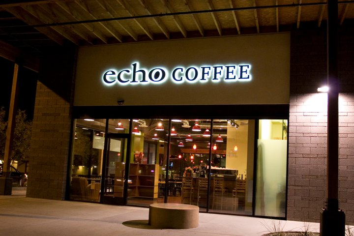 Break the Chain!  Echo Coffee in South Scottsdale