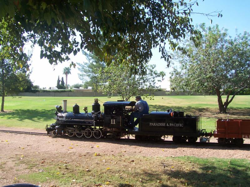 The Railroad Park at McCormick Ranch