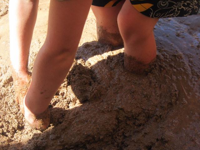 Caution: Quicksand!