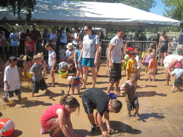 Little Kids Area at the Mighty Mud Mania