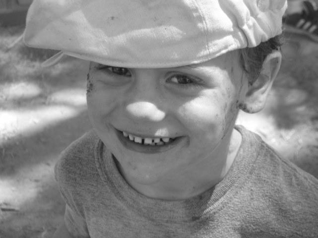 Happy mudder at Scottsdale's Mighty Mud Mania