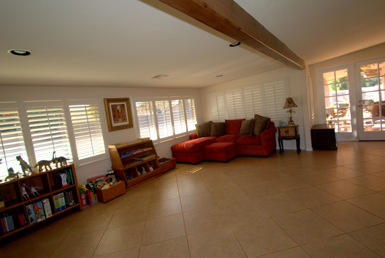 Alternate view of family room