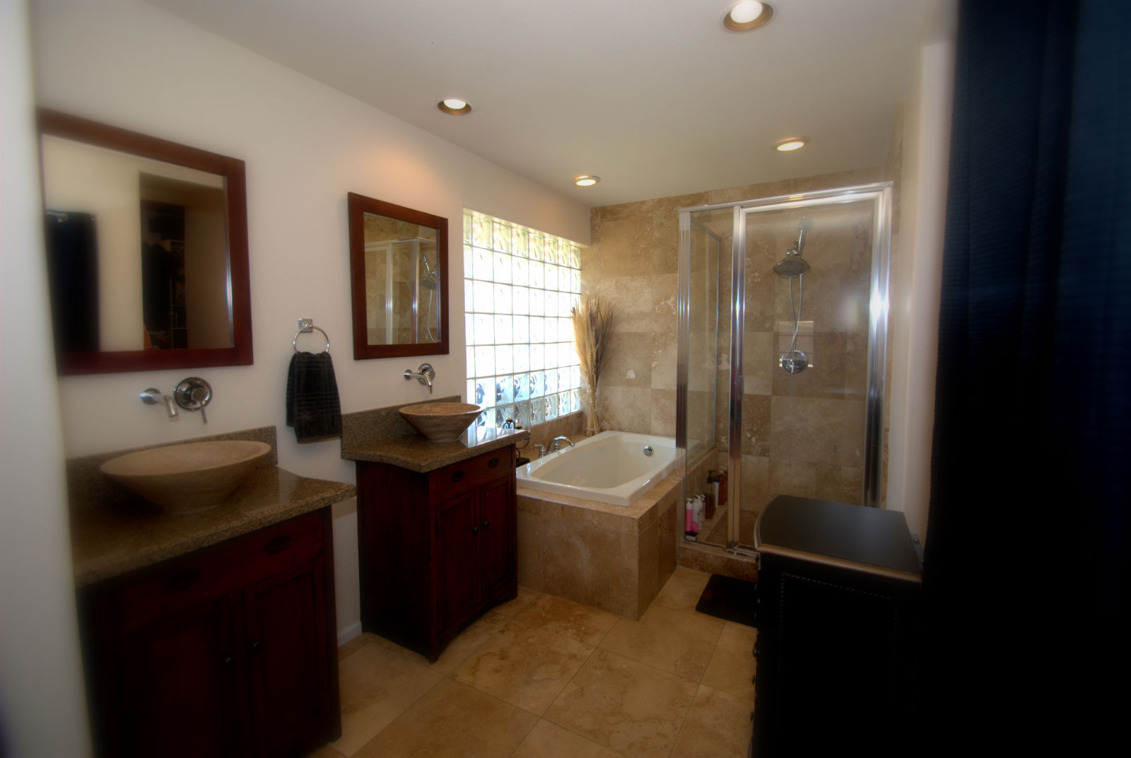 Remodeled Master Bath